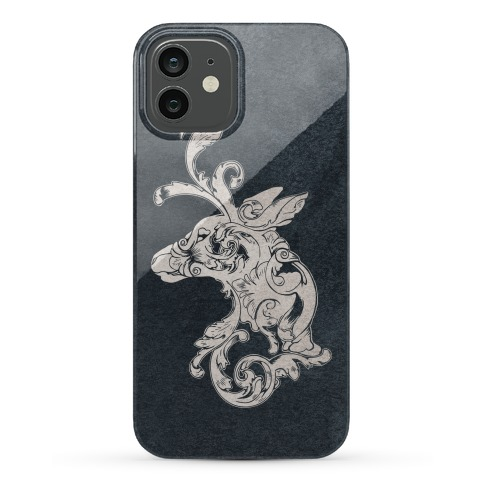 Decorative Deer Head Phone Case