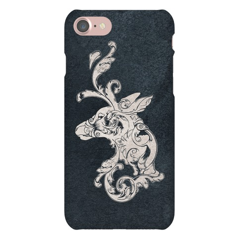 Decorative Deer Head Phone Case