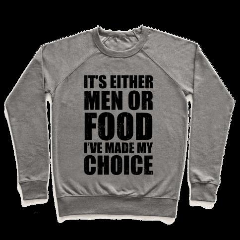 Men Or Food (Tank) Pullover