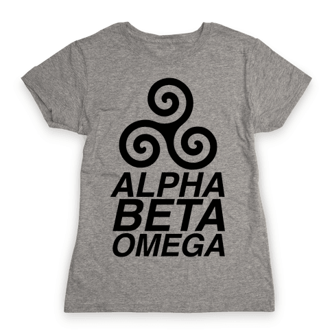 Alpha Beta Omega Womens T-Shirt