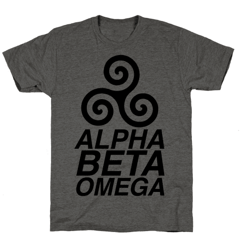 Alpha Beta Omega Mens T-Shirt