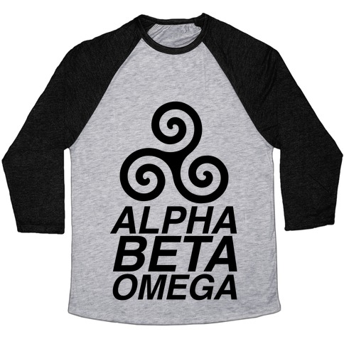 Alpha Beta Omega Baseball Tee