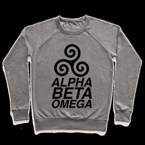 Alpha Beta Omega Pullover