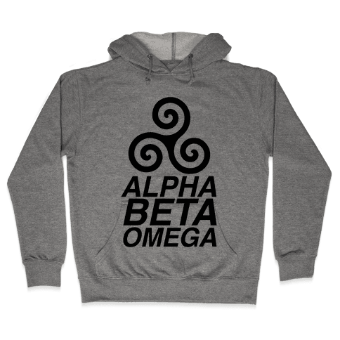 Alpha Beta Omega Hooded Sweatshirt