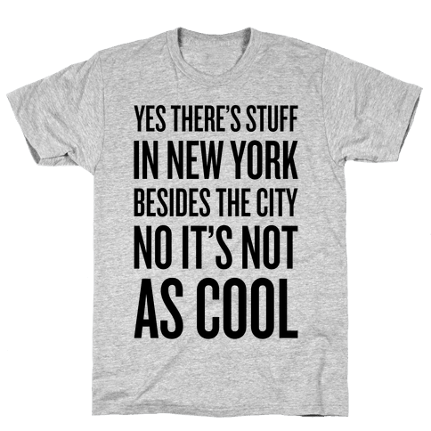 There's Stuff In New York Besides The City Mens T-Shirt