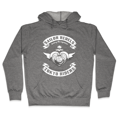 Sailor Rebels, Tokyo RIders Hooded Sweatshirt