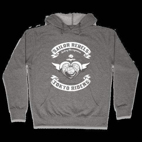 Sailor Rebels, Tokyo RIders Hooded Sweatshirt