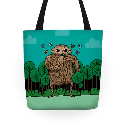 Baby Bigfoot Tote