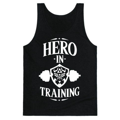 Hero In Training Tank Top