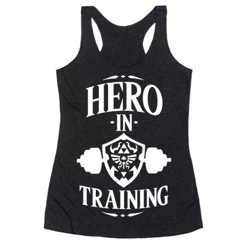 Hero In Training Racerback Tank Top