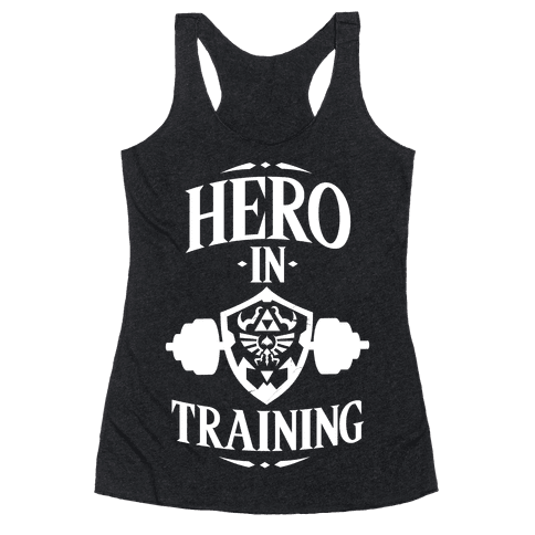Hero In Training Racerback Tank Top
