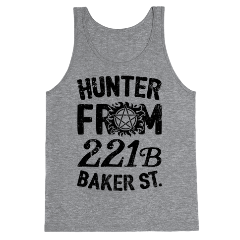 Hunter From 221B Baker St. Tank Top