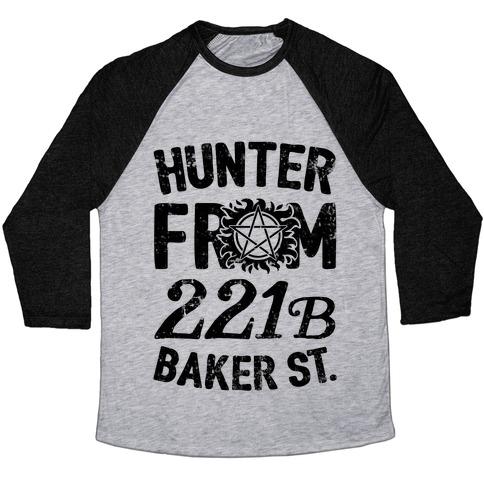 Hunter From 221B Baker St. Baseball Tee