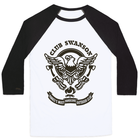 Club Swanson Baseball Tee