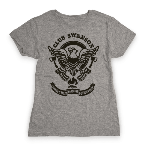 Club Swanson Womens T-Shirt