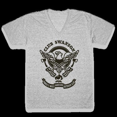 Club Swanson V-Neck Tee Shirt