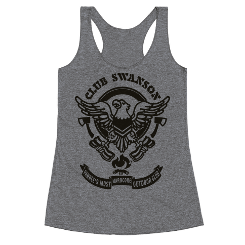 Club Swanson Racerback Tank Top