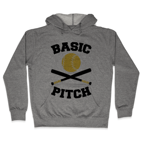 Basic Pitch Hooded Sweatshirt