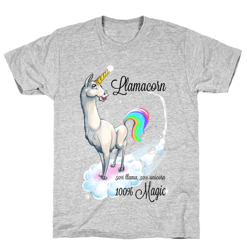 Llamacorn Mens T-Shirt