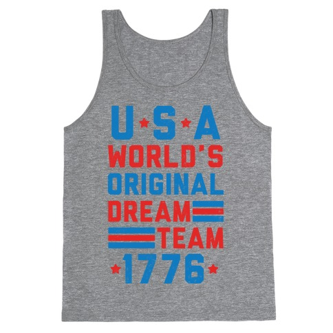 USA World's Original Dream Team 1776 Tank Top
