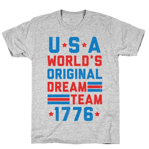 USA World's Original Dream Team 1776 T-Shirt