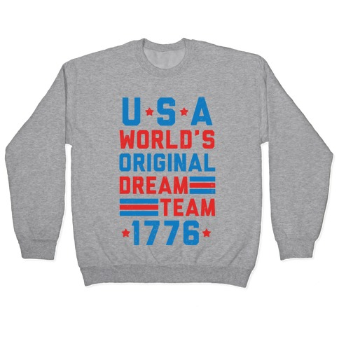 USA World's Original Dream Team 1776 Pullover
