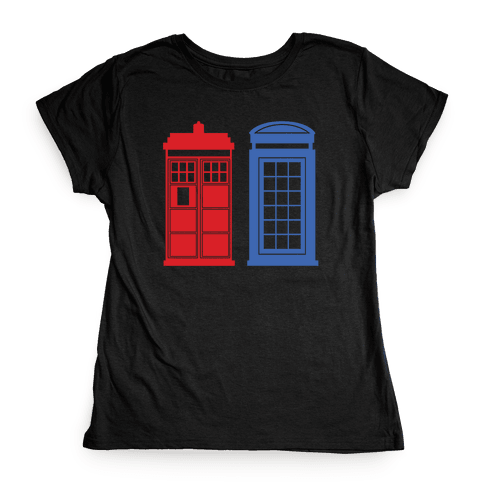 Doctor and Inspector Womens T-Shirt