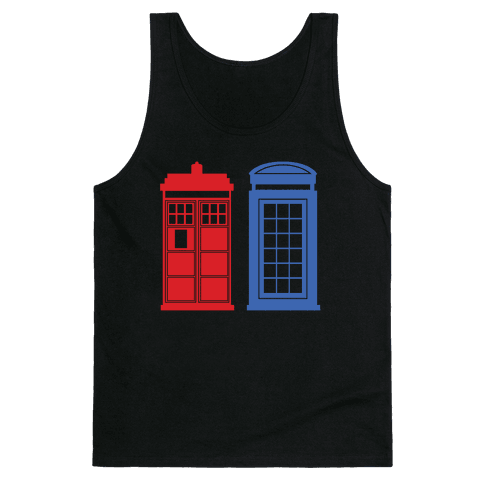 Doctor and Inspector Tank Top