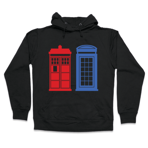 Doctor and Inspector Hooded Sweatshirt