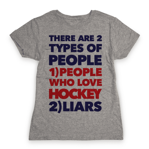 Hockey Lovers And Liars Womens T-Shirt