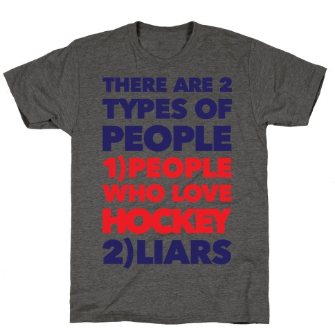 Hockey Lovers And Liars T-Shirt
