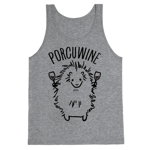 Porcuwine Tank Top