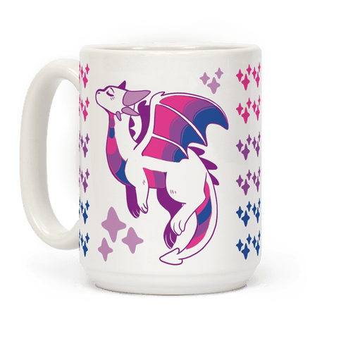 Bi Pride Dragon Coffee Mug