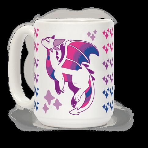 Bi Pride Dragon Coffee Mug