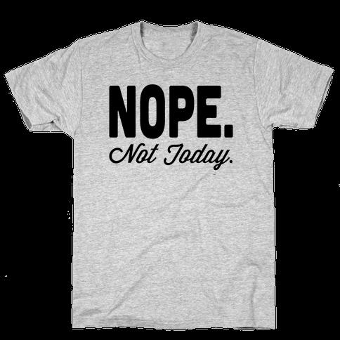 Nope. Mens T-Shirt