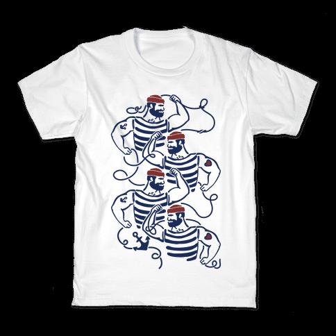 Knotty Sailors Kids T-Shirt