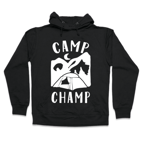 Camp Champ Hooded Sweatshirt