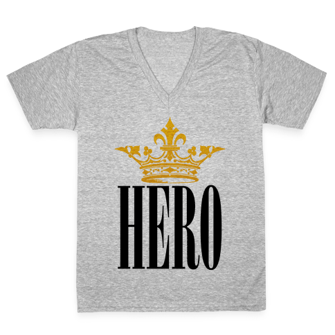 Hero V-Neck Tee Shirt