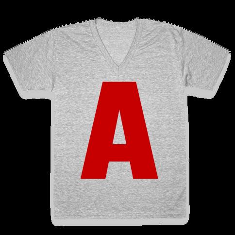 A V-Neck Tee Shirt