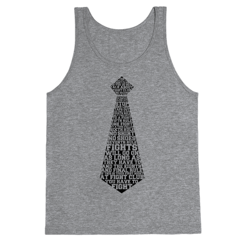 First Rule Of Night Club Tank Top