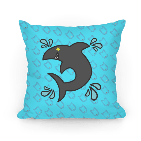Splash Free! Rin Mascot Pattern Pillow