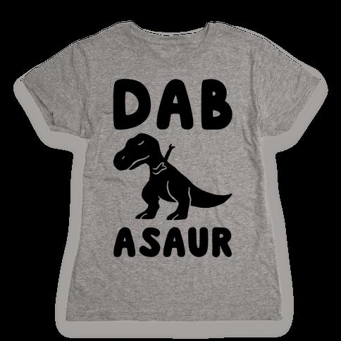 Dabasaur (Dabbing Dinosaur) Womens T-Shirt