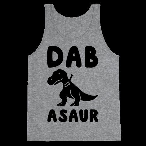 Dabasaur (Dabbing Dinosaur) Tank Top