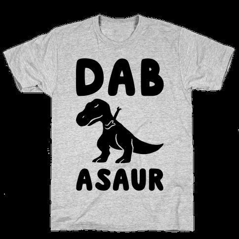Dabasaur (Dabbing Dinosaur) Mens T-Shirt