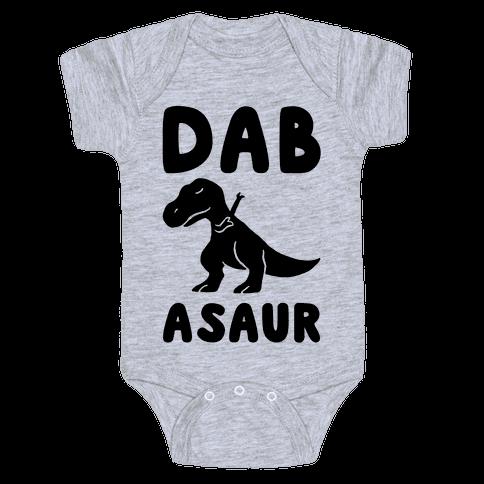 Dabasaur (Dabbing Dinosaur) Baby Onesy