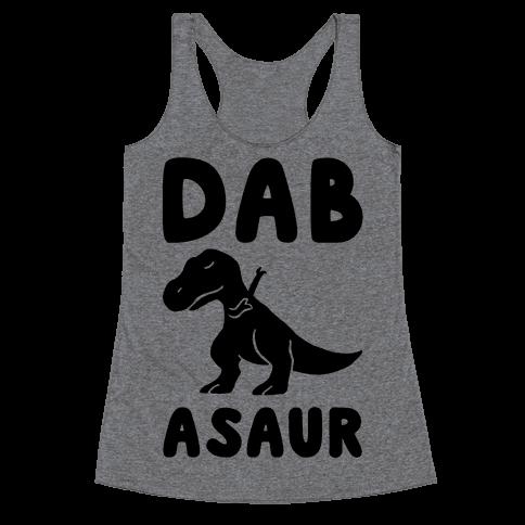 Dabasaur (Dabbing Dinosaur) Racerback Tank Top
