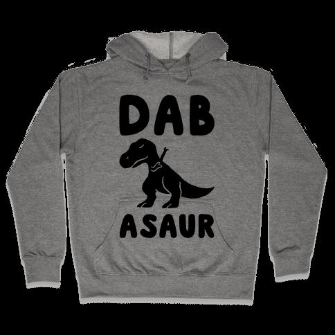 Dabasaur (Dabbing Dinosaur) Hooded Sweatshirt