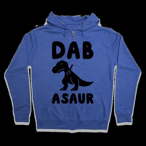 Dabasaur (Dabbing Dinosaur) Zip Hoodie
