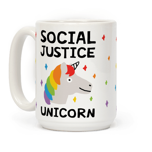 Social Justice Unicorn Coffee Mug