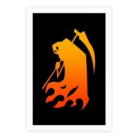 Kanji's Grim Reaper (Persona) Poster